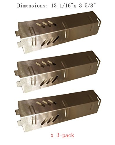 SH1561 Stainless Steel Heat Plate, Burner Cover, and Flavori