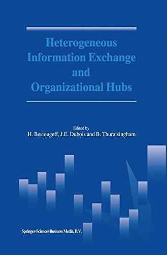 Download Heterogeneous Information Exchange and Organizational Hubs Pdf