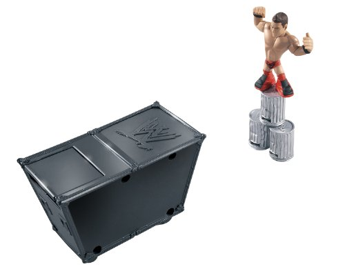 WWE Rumblers Smack Attack Playset With The Miz Figure and Accessory 6