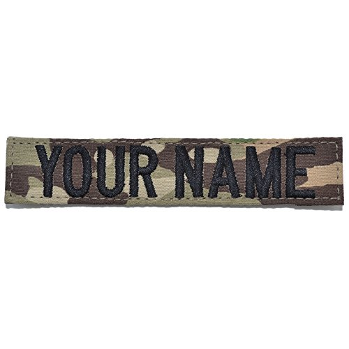 Custom 1 Piece OCP/Scorpion Name Tape with Hook Fastener