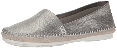 CHARLES BY CHARLES DAVID Women's Star Moccasin, Silver, 8 M US