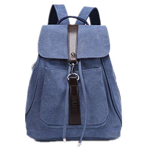 TOMATO-smile - Bolso mochila  para mujer negro negro Azul