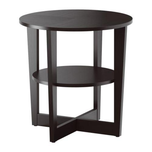 Amazon.com: Ikea Side table, black-brown 1024.112020.346 ...