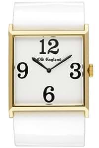 Old England OE119SQ - Reloj , correa de plástico color blanco