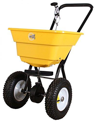 Esparcidor centrífugo TEXAS Gritter para Road sal y fertilizantes CS360079lbs