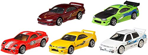 Hot Wheels Premium Bundle - Fast & Furious Vehicles [Amazon Exclusive]