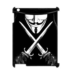 C-EUR V for Vendetta Pattern 3D Case for iPad 2,3,4