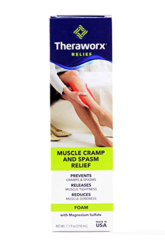Theraworx Relief Fast-Acting Foam for Leg Cramps, Foot Cramps and Muscle Soreness, 7.1oz