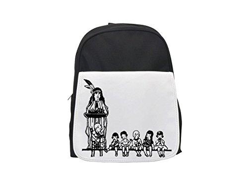 Clipart Native American and Children. printed kid's backpack, Cute backpacks, cute small backpacks, cute black backpack, cool black backpack, fashion backpacks, large fashion backpacks, black fashion