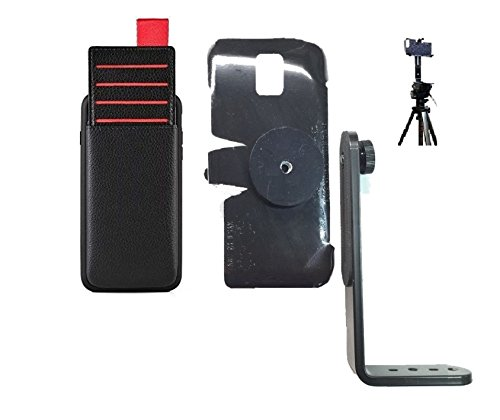 98616d752cb5 SlipGrip Tripod Mount For Apple iPhone 7 Using Lameeku Bnjfr Wallet Case