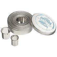 Ateco 11-Piece Plain Round Cutter Set