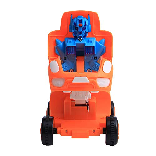 Alimao 2019 New Cars Transformers Action Figure Model Robot Toy Transform Pull Back Cars Toys