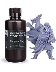 ELEGOO met water wasbaar Rapid Resin voor 3D-printers, LCD-UV-hardingshars 405nm standaard fotopolymeer hars voor LCD 3D-printen