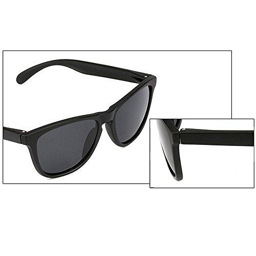 Hombres Gafas Polarizadas Y Gafas de para De Hombre Sol Color HD Azul para Sol LBY Negro Mujeres YzqUn00