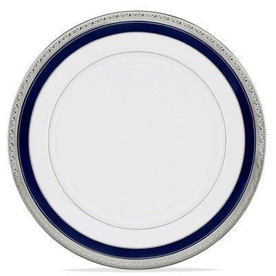 Crestwood Cobalt Platinum 10.5 Dinner Plate [Set of 4] by Noritake