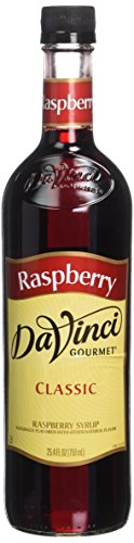 Raspberry Sweetener - Da Vinci Gourmet Syrups Raspberry Syrup 750 ml Bottle