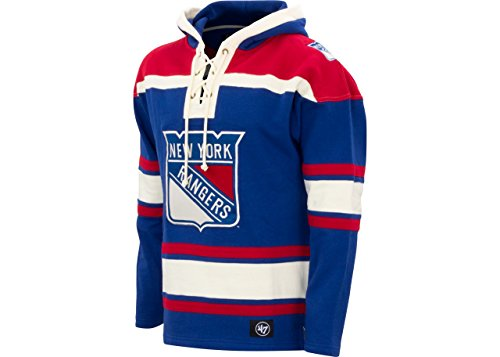 47 BRAND New York Rangers Lacer Hoodie (X-Large) by '47