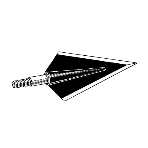 Diamond Broadhead (Zwickey Black Diamond Delta Broadhead 170 gr 2 Blade)
