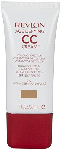 Revlon Age Defying CC Cream, Medium Deep/040, 1 Ounce