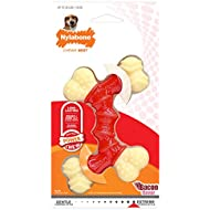 Nylabone Bacon Flavored Double Faux Bone Dog Chew Toy