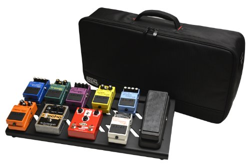 Gator Cases Aluminum Guitar Pedal Board with Carry Bag; Large: 23.75