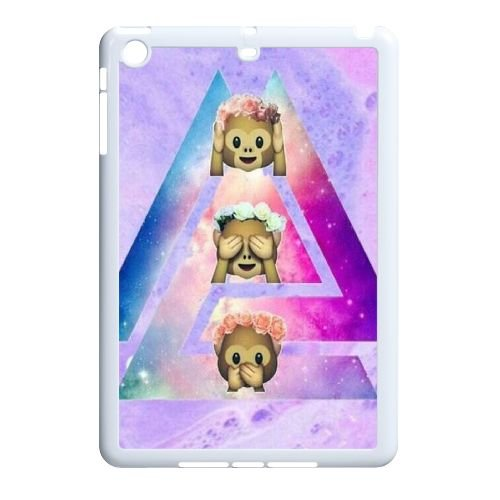 Cute Monkey Personalized Protective Cover Phone Case for iPad Mini