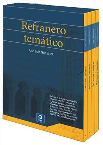 Refranero temático (Estuches de cultura popular) (Spanish ...