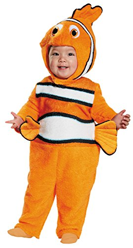 UHC Baby Boy's Finding Nemo Theme Outfit Infant Halloween Costume, 12-18M