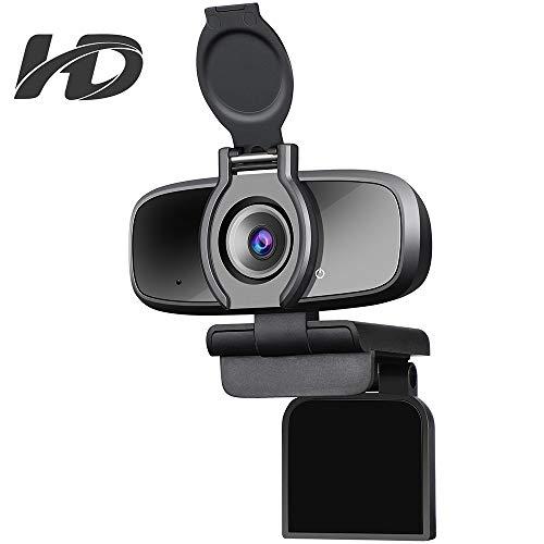 🥇 Dericam HD 1080p Webcam