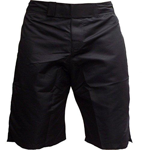 Plain Bk Fight Shorts #6, Medium