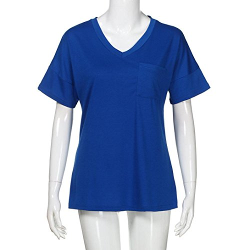 Multicolore Shirt145 Multicolore Donna Bekleidung SANFASHION SANFASHION Ballerine Damen Blu waYpx1nU