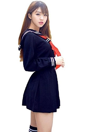 JWS-C (Japanese Schoolgirl Sailor Uniform Cosplay Costume)
