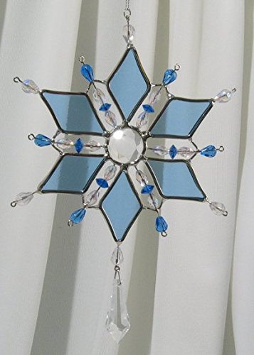 Blue Snowflake Diamond