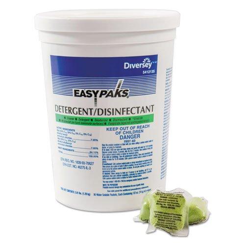 Diversey Easy Paks Detergent Disinfectant .5Oz 90Ea/Tub-137009 ()