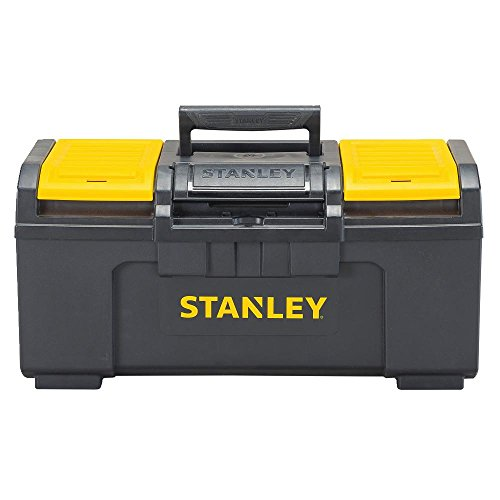 - Stanley STST19410 One-Latch Toolbox, 19-Inch, Black