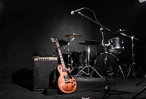 Amazon Com Yeele 10x8ft Garage Band Backdrop Guitar Drum Modern Rock Music Sound Background For Photography Adult Portrait Photo Booth Video Shooting Vinyl Wallpaper Photocall Studio Props Camera Photo