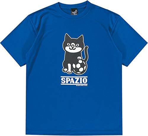 ジャンピングジャック神秘的なシーン[スパッツィオ] ジュニア フットサル プラクティス Tシャツ2 JR.PIPPO PRACTICE T-SHIR ブルー TP-0530