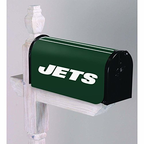 Team Cover Mailbox (NFL New York Jets 2MBC3821New York Jets, Mailbox Cover, Green)