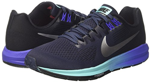 thunder Air Multicolor Silver Nike Blue W metallic 401 Mujer Deporte Zoom De black 21 Zapatillas Para Structure AvPwv
