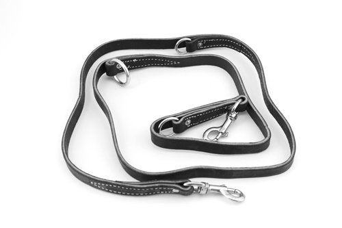 Leerburg Amish Leather Police Leash product image