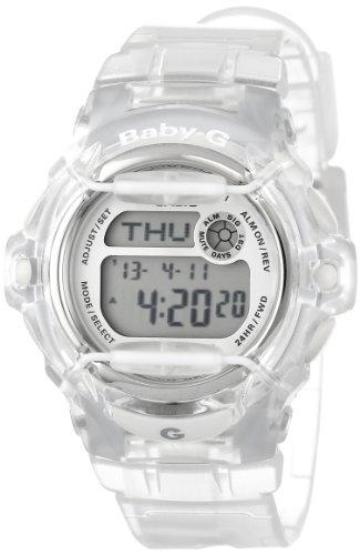 Casio Women's BG169R-7B Baby-G Clear Whale Digital Sport Watch