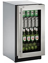 U-Line U3018RGLS15B 3.6 cu. ft. Built-in Refrigerator, Stainless Steel