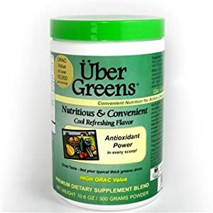 Uber Greens/High Energy Powder 300g