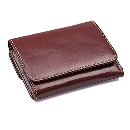 Culturemart Men Wallets Leather Purse with Credit Card Holder Male Wallet Zipper Coin Pocket Photo Holder