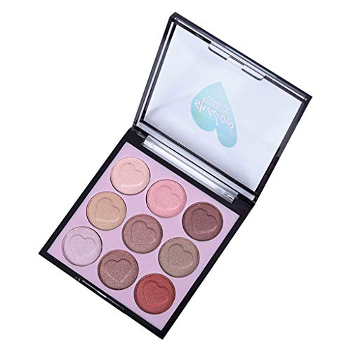 Eyeshadow Cosmetics Set With Brush 9 Colors Eye Makeup Palette Smoked, Powder, 2019 Fashion, Sexy, Beauty, Gift, Eyeshadow Pen