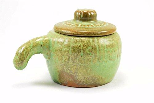 Frankoma Earthenware Prairie Green Baker & Lid Pottery #7U