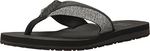 Flip Flop Forged Iron Grey Space-Dye 11 D US ()
