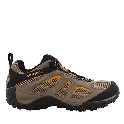 (Merrell Men's, Yokota 2 Hiking Sneaker - Wide Width Boulder 11.5 W)