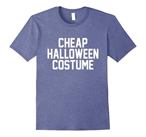 Skanky Mens Costumes (Mens Cheap Halloween Costume T-Shirt 2XL Heather Blue)