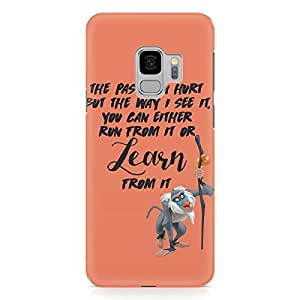 Loud Universe Rafiki Quote Lion King Samsung S9 Case The Lion King Samsung S9 Cover with 3d Wrap around Edges